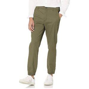 Men's Slim-fit Jogger Pant Olive Green NWT Med